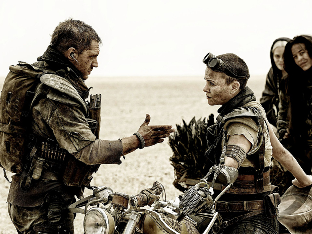 Mad Max and Imperator Furiousa