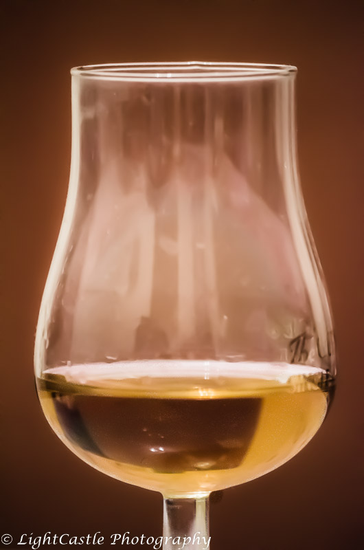 brandy in a glass